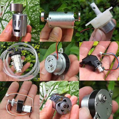 Vibrating Micro Geared Motor Electric Reduction Gearbox DIY Massager DC 5V-24V