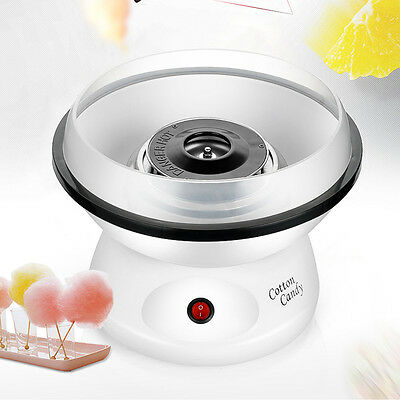 Cotton Candy Maker Machine Floss Commercial Carnival Party Fluffy Sugar White