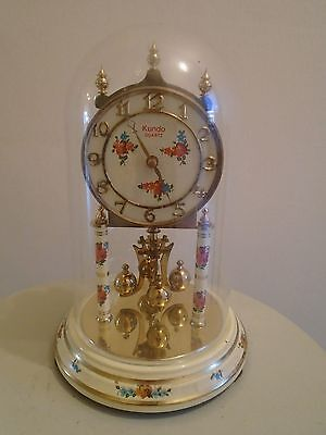 Vintage Kundo Anniversary Dome Clock Perspex For Restoration Repair