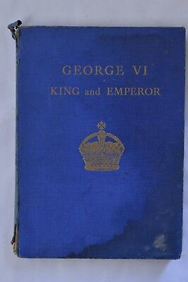 1937 George VI King and Emperor Royal Coronation Book