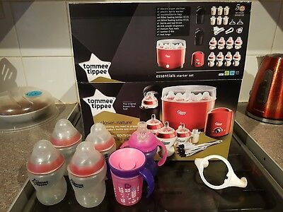 tommee tippee starter kit red