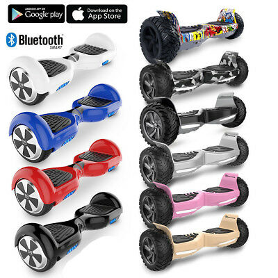 Evercross 8,5zoll Bluetooth Hoverboard Elektro Scooter Roller SUV Board mit App
