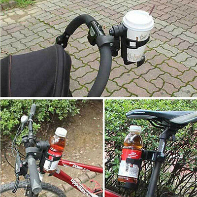 Drink Cup Bottle Holder for Baby Stroller Buggy Pushchair Pram 360° Rotating