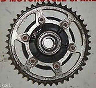 Yamaha Yzf R6 2006 2007 2Co:sprocket Carrier - Rear:used Motorcycle Parts