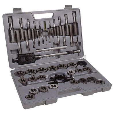 45 Pc Tungsten Steel Tap And Die Set Metric Wrench Cuts Bolts M6-M24 Fervi M100