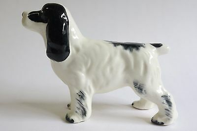 "Vintage ROBERT SIMMONS California Pottery ""RUGGLES"" 2096 SPANIEL DOG Figurine"