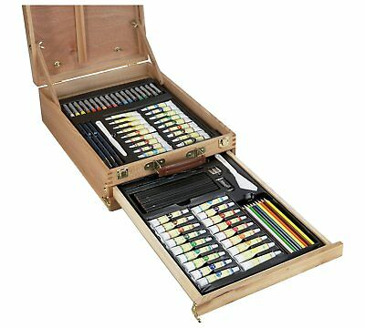 Bizili Portable Art Chest - 150 Pieces RRP 54.99