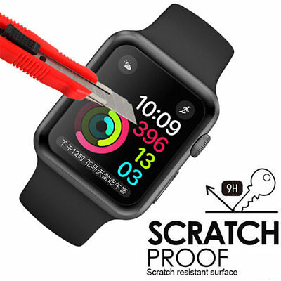 Hot For Apple Watch Premium Slim Tempered Glass Film Screen Protector 38mm