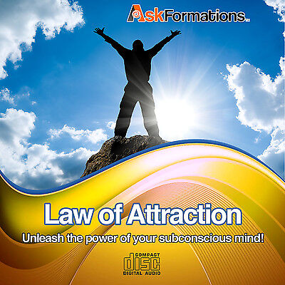 Law of Attraction Subliminal Hypnosis CD Attract What You Want In Life!