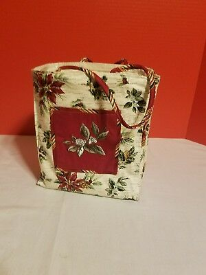 Longaberger Fabric Tote Bag And Protector