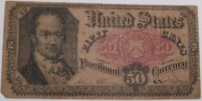 1875 Fifty Cent US Fractional Currency
