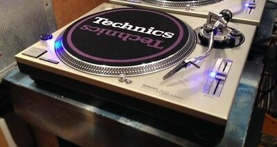 Technics 1200 MK2 Turntable  iwith Ortofon and blue led conversion+serviced