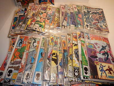 Large lot Amazing SPIDER-MAN Marvel comic VF/NM 100 issues 133-375 Assassin Plot