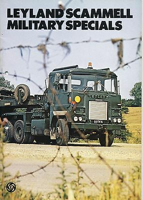 Leyland Scammell Military Specials Contractor Tank Transporter Heavy Haulage IDF
