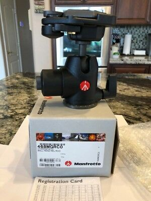 Manfrotto 468MGRCO Hydrostatic Ball Head with RC2 Quick Release