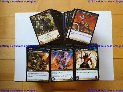 Wow, World of Warcraft TCG, 750 Karten, Blut der Gladiatoren, unbespielt, dt.