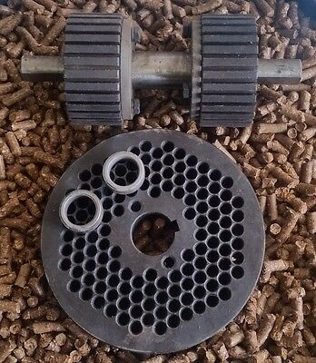 "6"" (150mm) Roller Assembly and Die for Replacement or Homemade Pellet Mill - NEW"