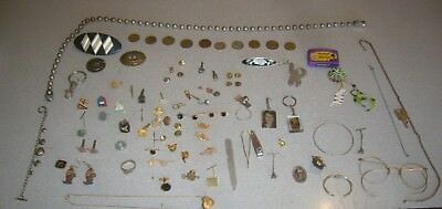 VINTAGE JUNK DRAWER MISC. LOT of jewelry and more