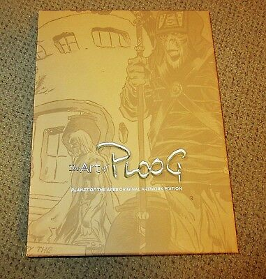 THE ART OF PLOOG, PLANET OF THE APES RARE Autographed Ed PUBLISHER PROOF FPG