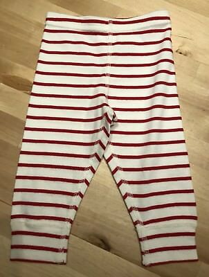 Hanna Andersson Organic Cotton Wiggle Pants Red Stripe 70 (6-12 Months)