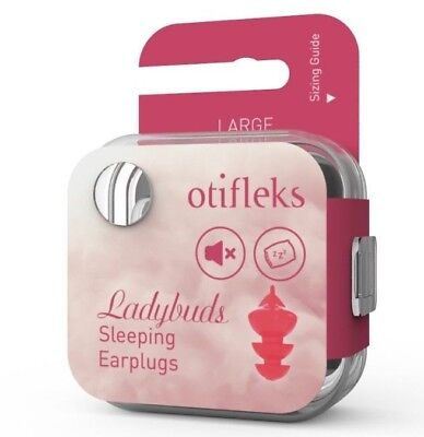 Ladybuds- Sleeping Earplugs- Small/Medium/Large