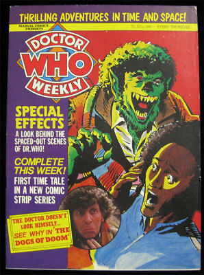 Doctor Who Weekly No 30 - May 7 1980 Marvel Comics UK BBC TV Magazine Tom Baker