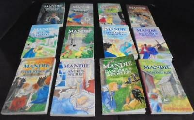 Large Lot Mandie Children's Series Books Nos. 13-25 by Lois Gladys Leppard EUC!