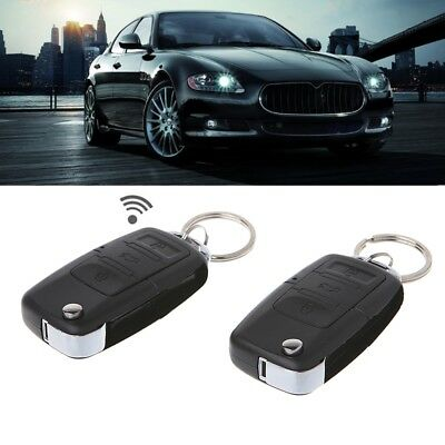 Car Remote Control Central Kit Keyless Universal Door Locking Entry System Alarm