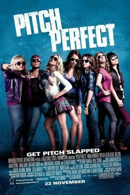 Pitch Perfect A1 To A4 Size Poster Prints