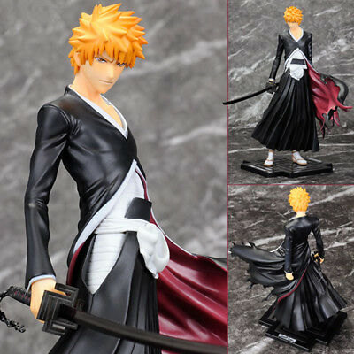 Anime Cartoon Cool Bleach Kurosaki Ichigo PVC Action Figure Model Doll Toy Gift