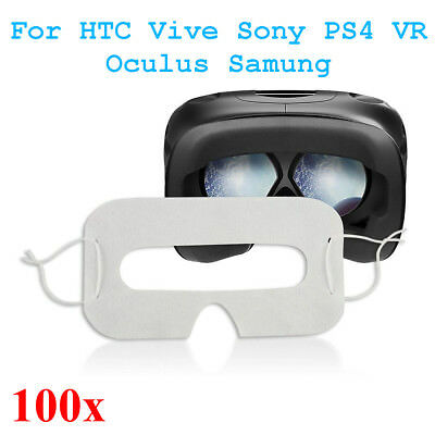 20.5x11.5cm Hygiene Eye pad Face Mask For HTC Vive For Sony PS4 VR Oculus Samung