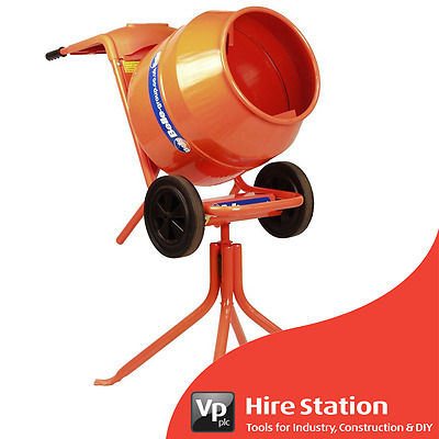 Genuine Belle Minimix 150 240v Cement Concrete Mixer inc. Stand