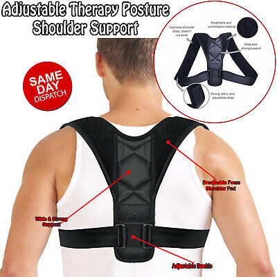 Shoulder Posture Clavicle Support Back Corrector Straight Brace Strap Correct