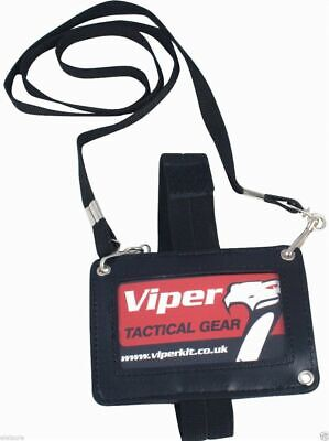 Viper Tactical 3 Way ID Security Card Holder Pass Badge Permit Neck Lanyard Door