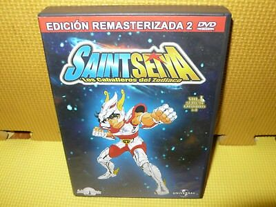 Saintseiya - Ed Remasterizada - 2 Dvds - Vol 1 - Caps 1 Al 8 - Anime - Dvd