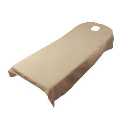 Camel Soft Beauty Massage SPA Treatment Bed Table Cover Sheets With Hole