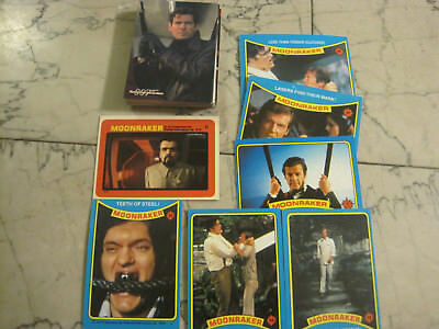 1979 moonraker cards and james bond inkworks 41 card lot free shipping