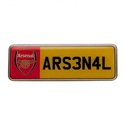 Arsenal F.C. Number Plate Badge Official Merchandise