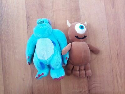 Disney beanies monsters inc sulley and little mikey