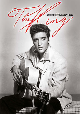 Calendrier Elvis Presley Official 2018