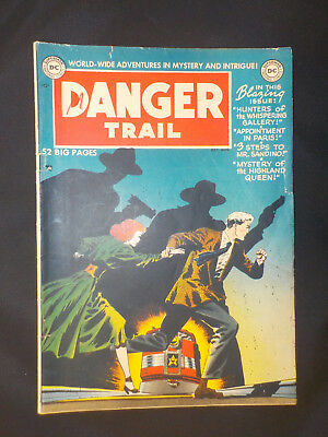 Danger Trail #1 ! DC '50 ! TOTH ! INFANTINO ! Please read carefully ! hayfamzone