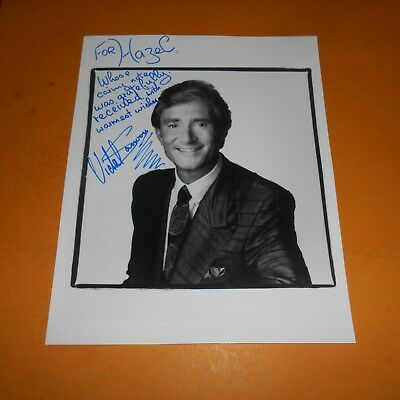 Vidal Sassoon CBE was a British and American hairstylist Hand Signed Photo