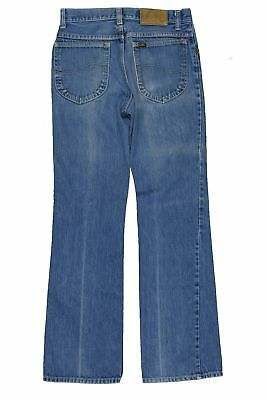 Lee Riders Denim Jeans 80's Faded Vintage Talon 42 Made USA Boot Cut 30x32