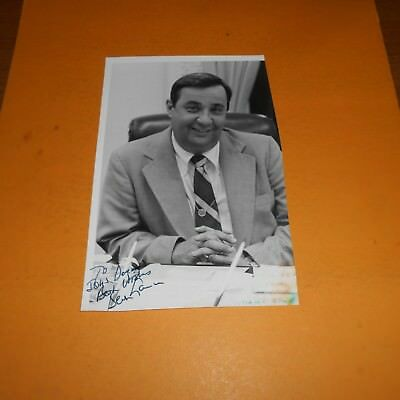 Bert Lance was an American businessman who served as Director Hand Signed Photo