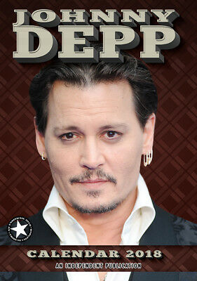 calendrier JOHNNY DEPP 2018