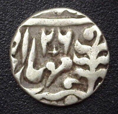 Jaipur, India Nd//26(1905) Silver 1/4 Rupee Km#137  Nearly Extremely Fine