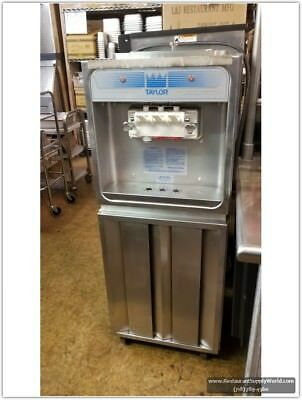 TAYLOR 168-27 Soft Serve Freezer Air Cooled, 220 Volts 60 Hz Single ph - Used