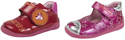 Agatha Ruiz De La Prada Infants Girls Leather Shoes Easy Fastening Party Booties