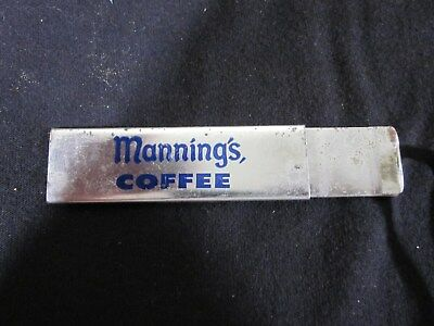 Rare - Manning's Coffee - Salesmans - Box Cutter