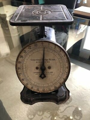 Antique Columbia Family Scale, Landers Frary & Clark